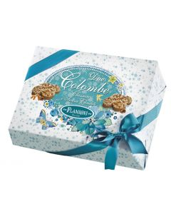 Box with two colomba classic and without candied fruit