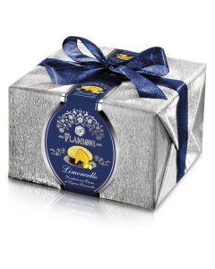Panettone with limoncello flavoured cream