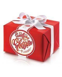 Panettone glassato in confezione regalo - 1Kg