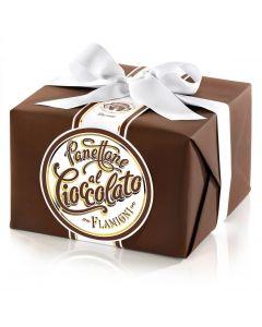 Panettone glassato con gocce di cioccolato - 1Kg